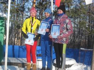 Лыжные гонки город Тында 21-22 ноября девушки